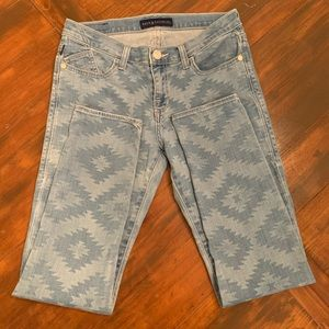 Rock and Republic Aztec skinny jeans